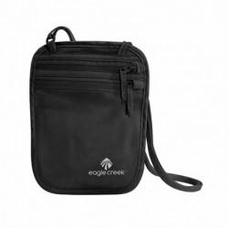 Portadocumentos de seda para llevar dentro de la ropa (Color Negro)