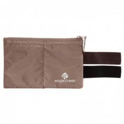 Bolsillo secreto de nylon para colgar del cinturón (Color Moca)