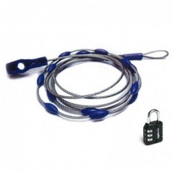 Cable antirrobo ajustable
