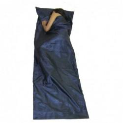 Saco Sábana de Seda de Mzungu (Color Azul oscuro)