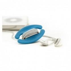 Enrolla Cables Pequeño (Color Azul)