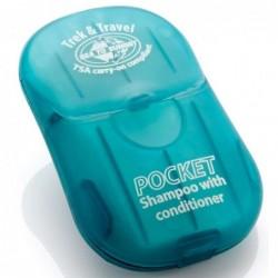 Champú y Acondicionador en Láminas Pocket Soap
