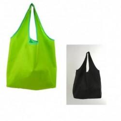 Bolsa de compra reutilizable y reversible (Color Negro)