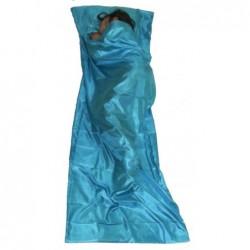 Saco Sábana de Seda de Mzungu (Color Azul Cielo)