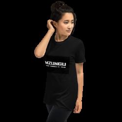 Camiseta Mzungu manga corta unisex