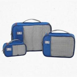 Pack de 3 bolsas organizadoras de ropa y accesorios