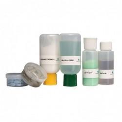Set de botellas y pastilleros de viaje